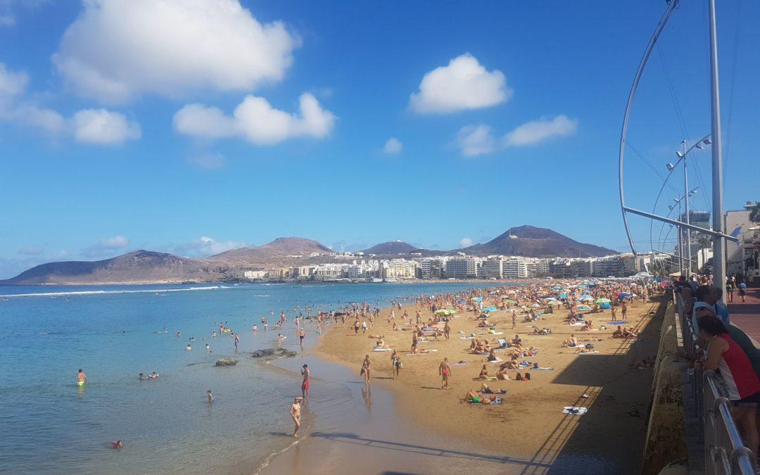 Playa de Las Canteras, Las Palmas (Gran Canaria) 2019. április