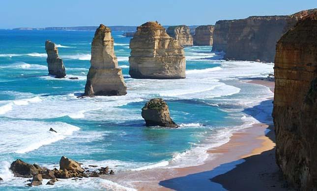 A 12 Apostol sziklacsoport, Ausztráliában